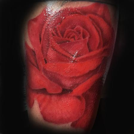 Tattoos - Rosey Red - 102270