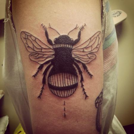 Tattoos - Bumblebee tattoo  - 89089