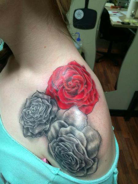Tattoos - Rose tattoo  - 89091