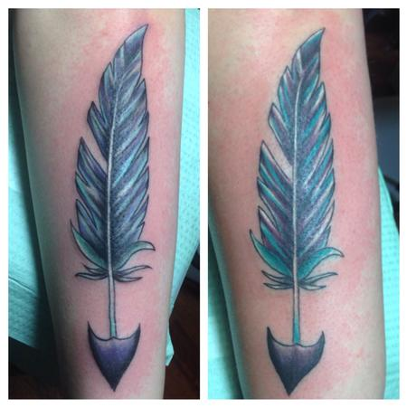 Tattoos - Feather arrows  - 91283