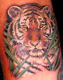 Looking for unique  Tattoos? Realistic Tiger Tattoo