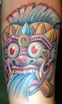 Looking for unique  Tattoos? Mask tattoo