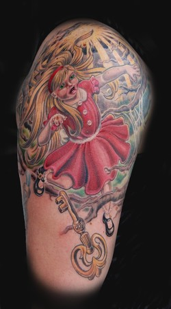 Looking for unique  Tattoos? alice in wonderland