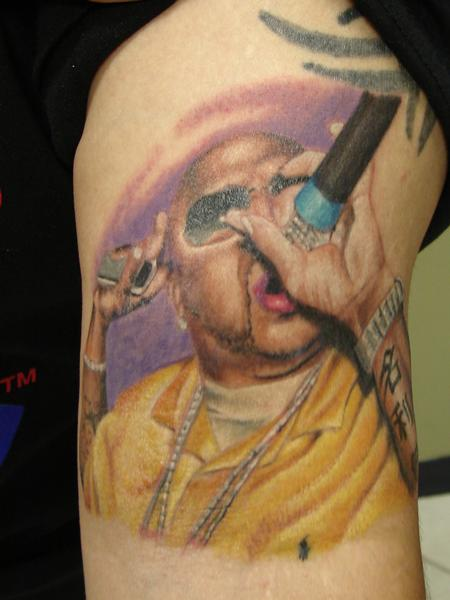 Tattoos - portrait of Pimp C. by mario sanchez - 55618
