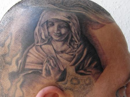 Tattoos - Virgin Mary by Mario Sanchez - 57702