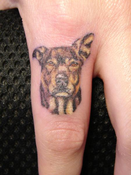 Tattoos - Dog Portrait - 62003