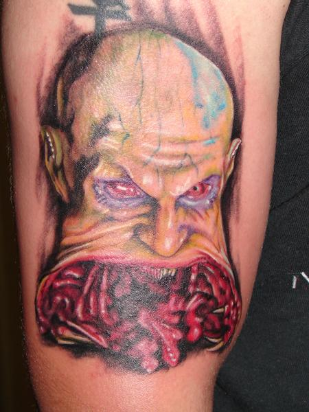Tattoos - realistic evil demon by mario sanchez - 55088