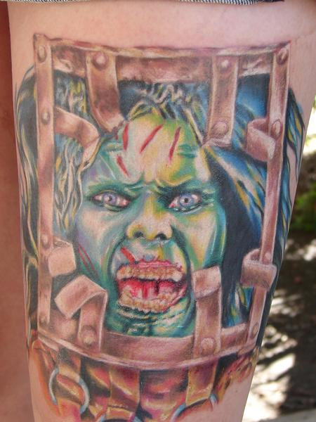 Tattoos - 13 ghosts tattoo by mario sanchez - 55090