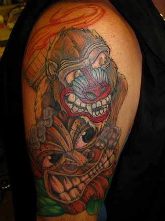 Tattoos - after coverup - 46942