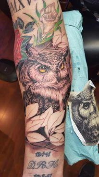 Great horned owl Design Thumbnail