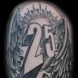 Tattoos - #25 with angel wings - 69918