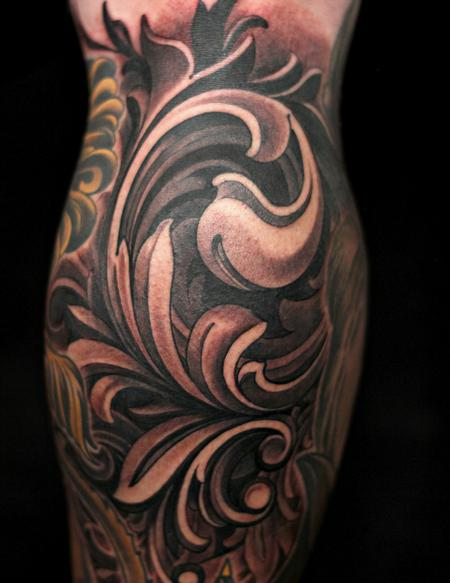Tattoos - Ornamental Scrollwork - 109115