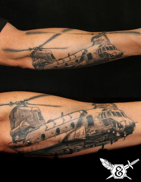 Tattoos - Helicopter - 70063