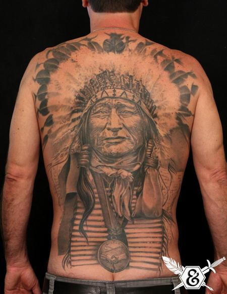 Russ Abbott - Native American Chief