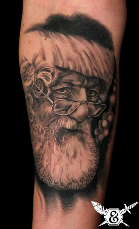 Tattoos - Santa Claus - 70087
