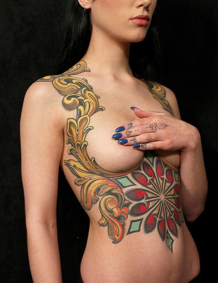 Tattoos - Savannah's Torso - 109123