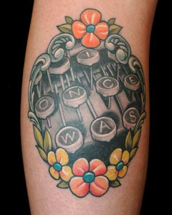 Russ Abbott - Typewriter Tattoo