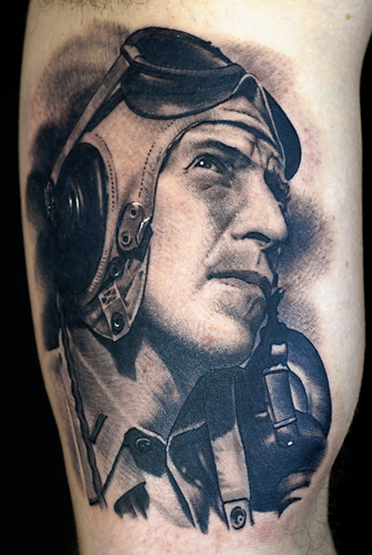 Tattoos - Pilot portrait - 28619