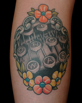 Tattoos - Typewriter - 28608