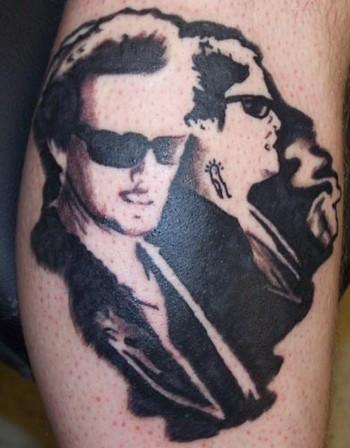 Name tattoo designs on forearm jesse james tattoos tattoos for Boondock saints tattoo