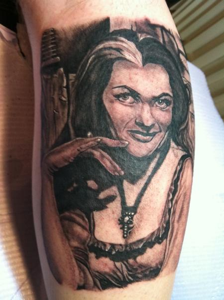 Tattoos - Lily Munster - 79209