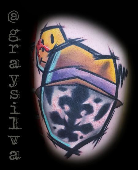 Gray Silva - Rorschach