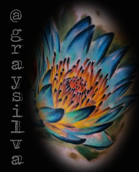 Tattoos - Lotus flower - 120445