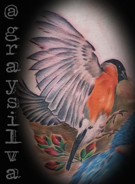 Tattoos - Bullfinch - 120441