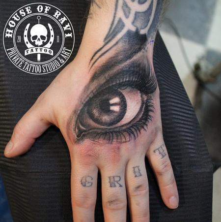 Tattoos - An eye - 101270