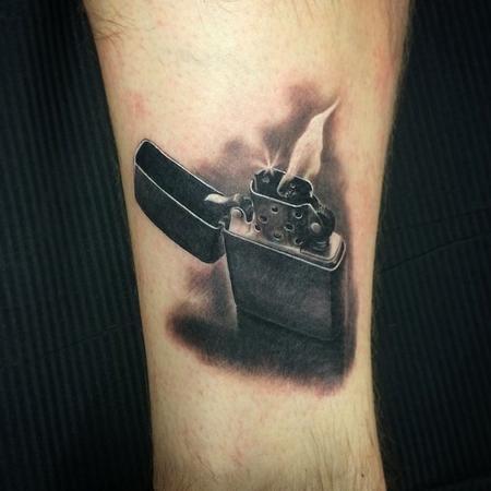 Zippo Tattoo Design Thumbnail