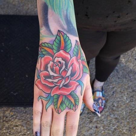 Hand Rose  Design Thumbnail