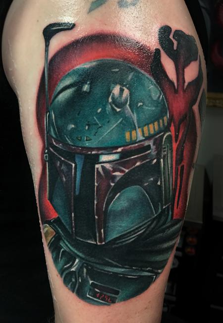 Tattoos - Boba Fett - 126609
