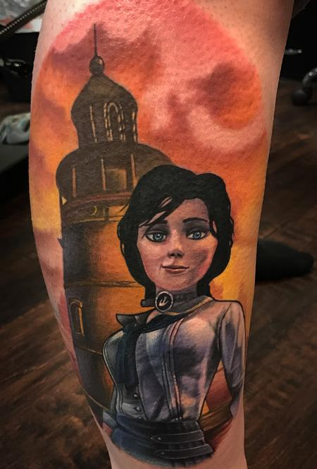 Tattoos - Elizabeth and Lighthouse - 125436