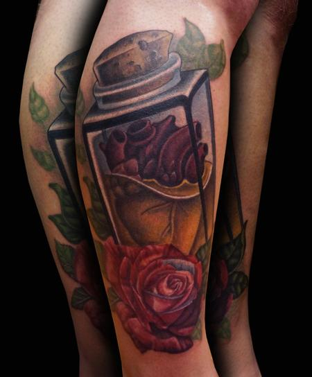 Tattoos - Heart in Jar - 122047