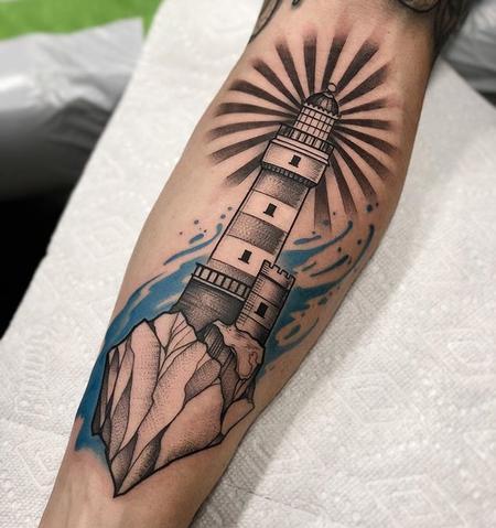 Lighthouse  Tattoo Thumbnail