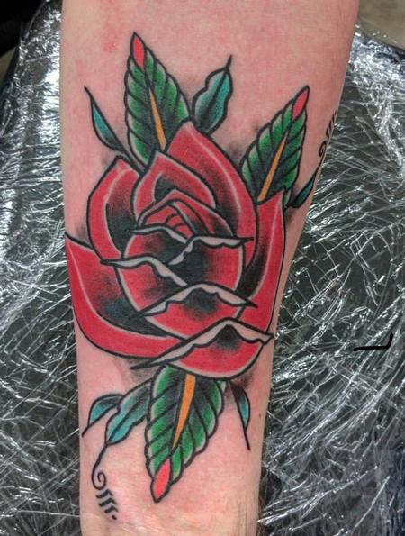 Tattoos - Rose - 131366