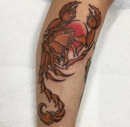 Tattoos - Golden Scorpion  - 132303