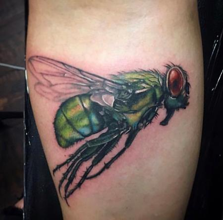 Pretty Fly  Tattoo Design by Haylie Erin