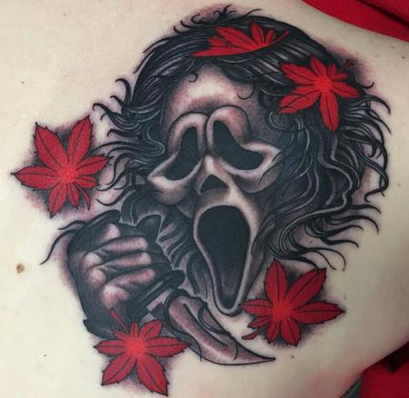 NeoJapanese Ghostface  Tattoo Thumbnail