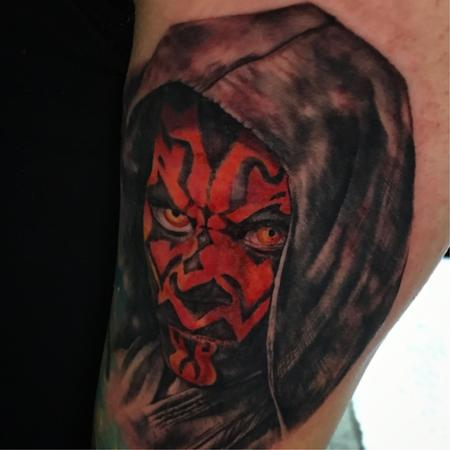 Tattoos - Darth Maul - 131285