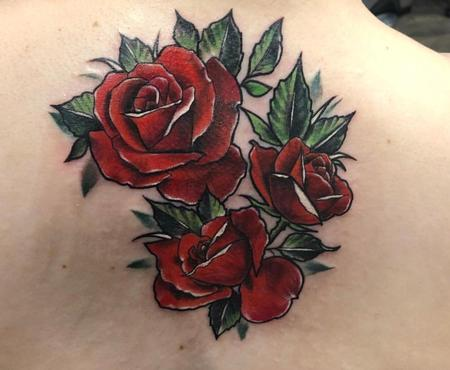 Tattoos - Red Roses - 133419