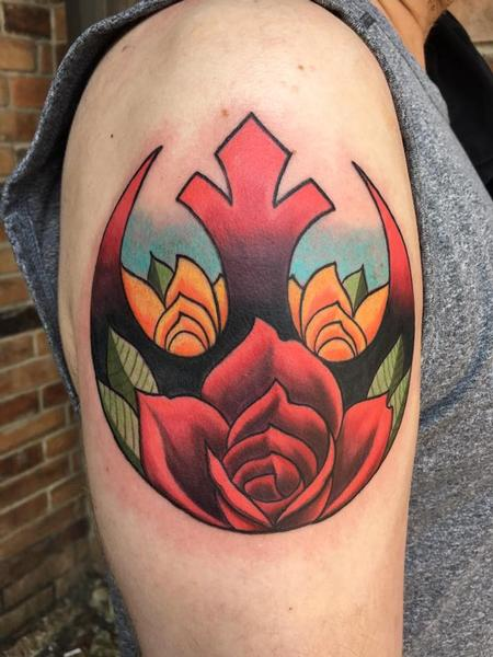 Tattoos - Traditional star wars tattoo - 131168