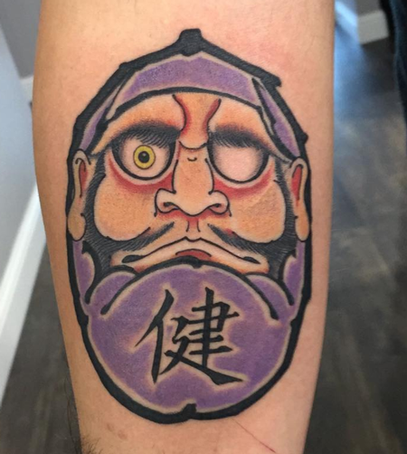 Tattoos - Daruma tattoo - 131144