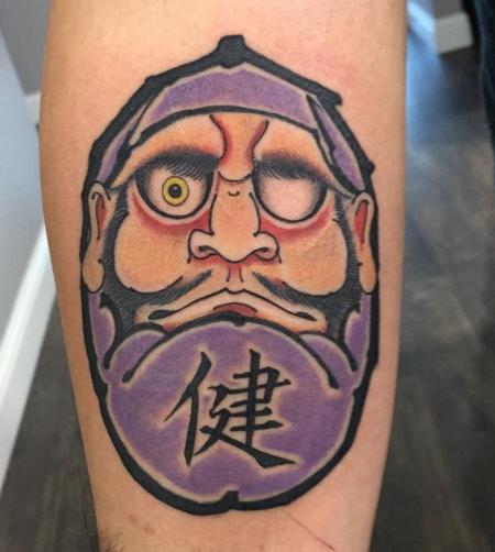 Daruma tattoo Tattoo Thumbnail