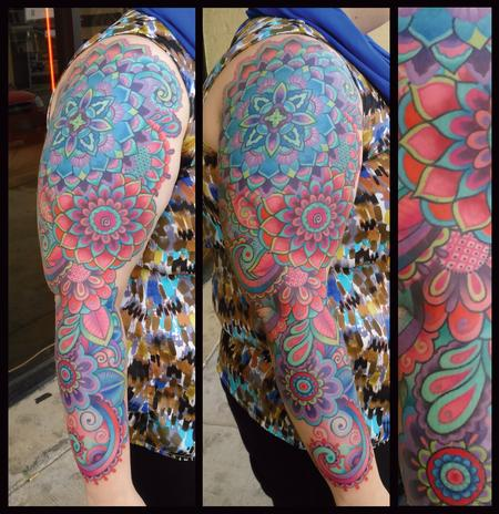 James Corgill - Ornate Full SLeeve