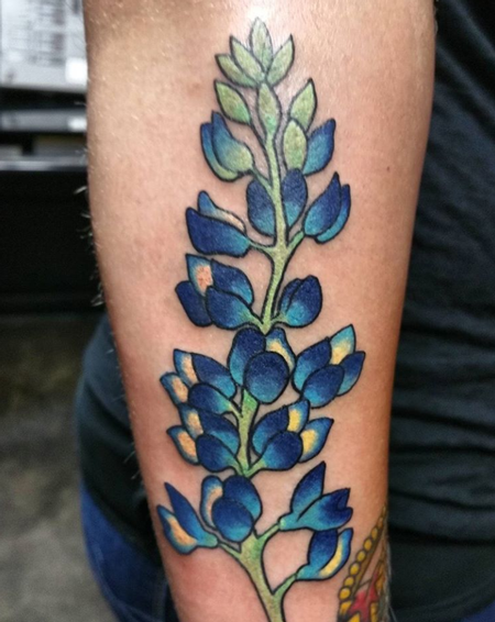 Traditional floral tattoo Tattoo Thumbnail