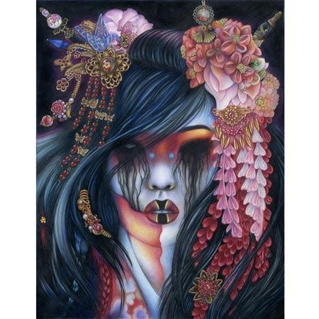 Tattoos - Zombie Geisha - 111500