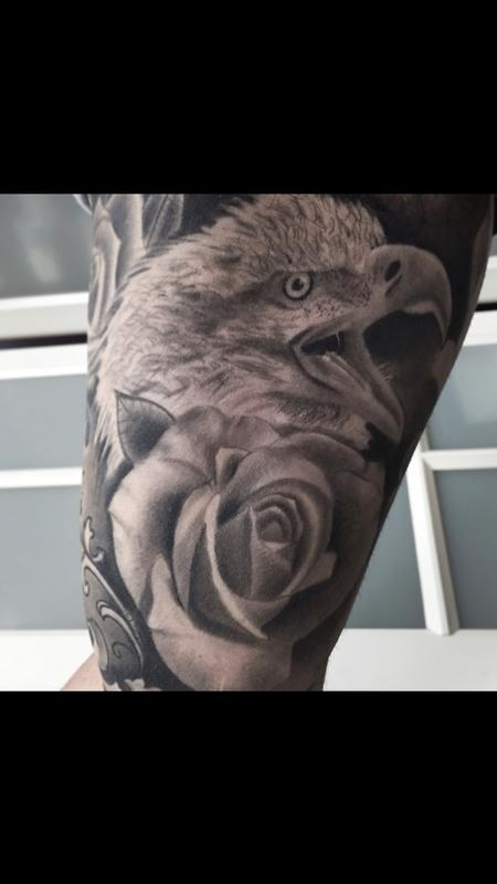 Tattoos - Black & Gray Work - 131367