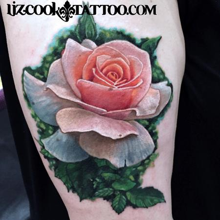 Tattoos - Realistic Rose - 111738