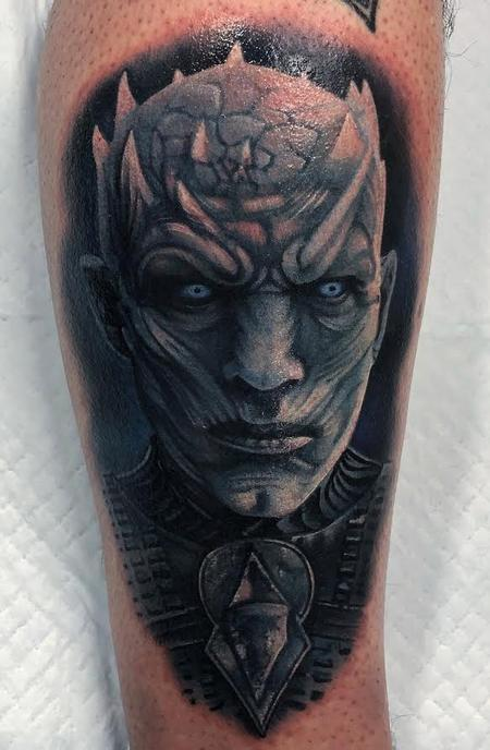 Tattoos - Night King Portrait - 133195